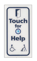 Touch for help
