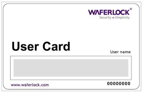 Waferlock User Card