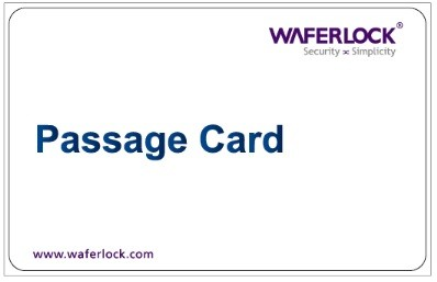 Waferlock Passage Card
