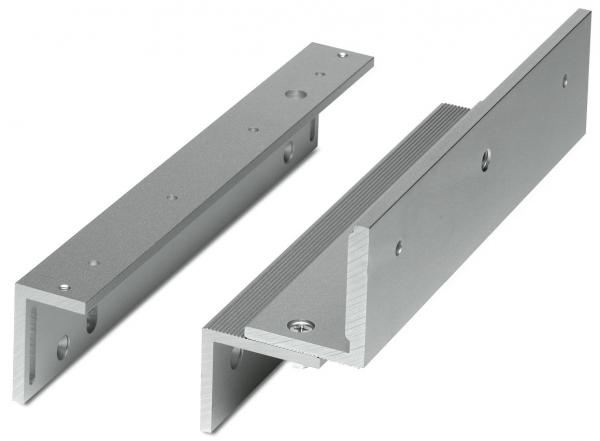 MAG1211M MINI MAGNETIC LOCK Z&L BRACKET (MAG1211ZL)