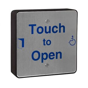 DDA Push Pad Touch Sensitive Wireless (QRSS0) | Door Automation