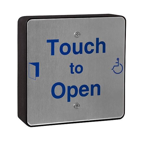 DDA Push Pad Touch Sensitive Wireless (QRSS0) | Door Automation