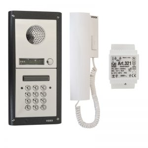 VIDEX 4000 Series Audio Intercom with Codelock