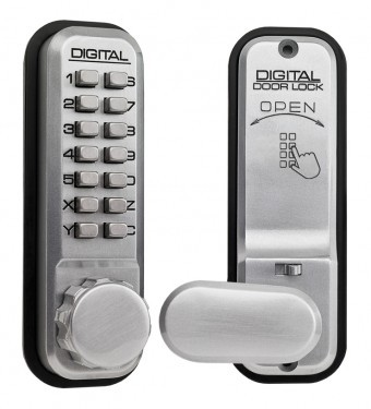 LOCKEY 2435 MECHANICAL DIGITAL LOCK (2435SCP