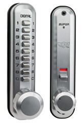 Super8 Digital Door Handle