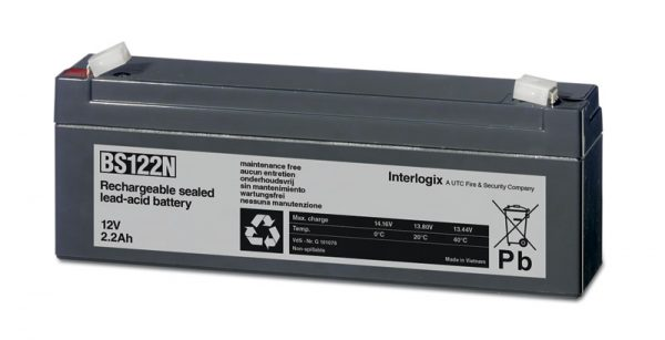 Interlogix BS122N Rechargeable Battery