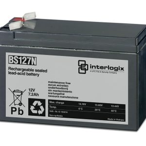Interlogix BS127N Rechargeable Battery