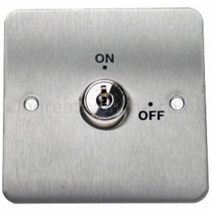 Flush Maintained Key Switch KS001 | Access Control