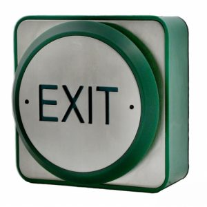 Large Push Plate Exit Button | Door Automation | RTE10