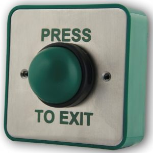 Green Dome Exit Button RTE9