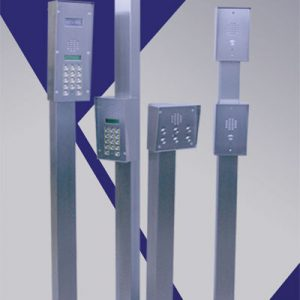 Stainless Steel Posts | Gate Entry Systems