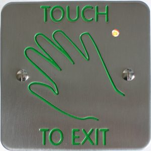 Touch to Exit Button | Door Automation