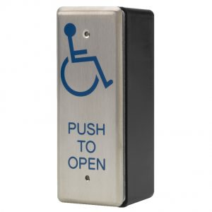 DBL002 Push to Open Button | Door Automation | DDA
