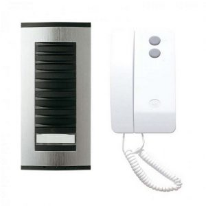 BPT 1 Way Surface Audio Door Entry Kit c/w Targha Panel & Agata Handset (TAAG1)  BPT TAAG1   Audio Entry Systems   GB Locking Systems