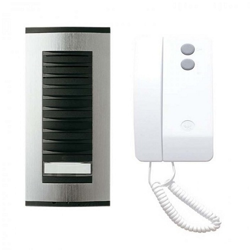 BPT 1 Way Surface Audio Door Entry Kit c/w Targha Panel & Agata Handset (TAAG1) |BPT TAAG1 | Audio Entry Systems | GB Locking Systems